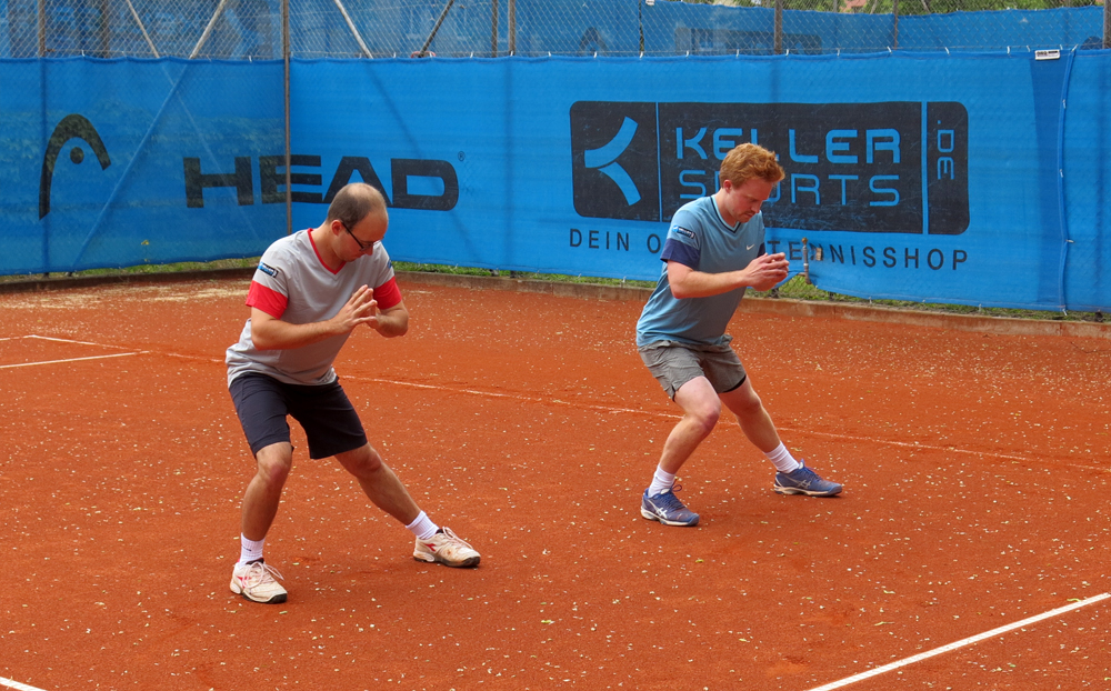 Tennis-Aufwärmübung 3: Dehnen