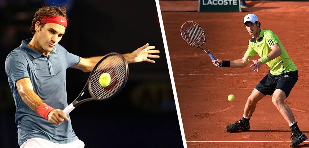 So trainieren die Tennis-Profis vor einem Grand Slam