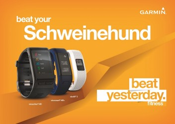 """BEAT YESTERDAY"" MIT GARMIN"