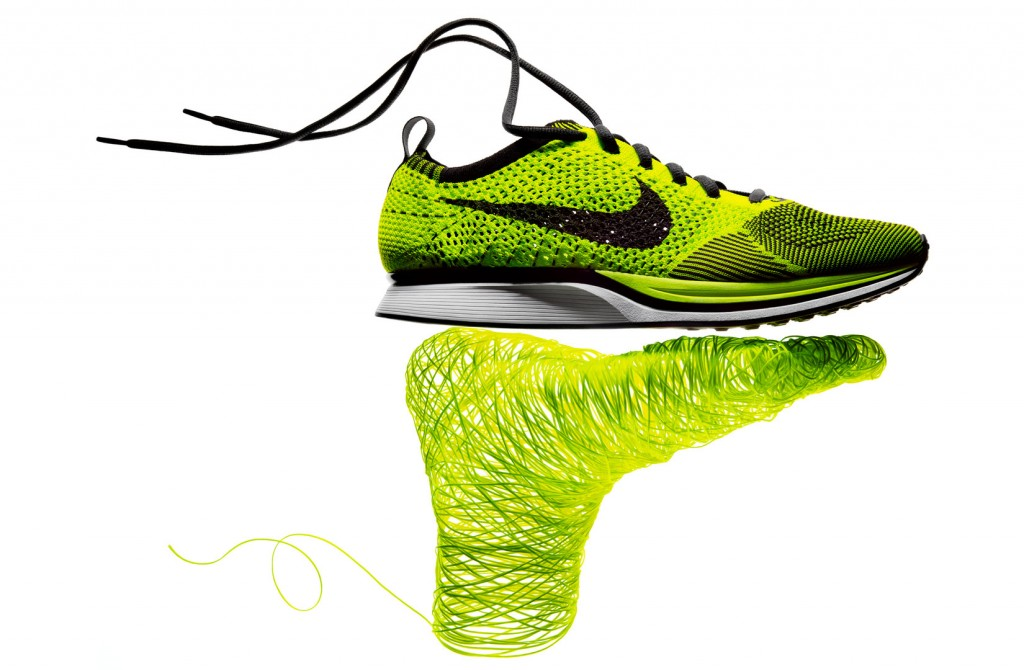 Was ist Nike Flyknit Obermaterial Technologie Material