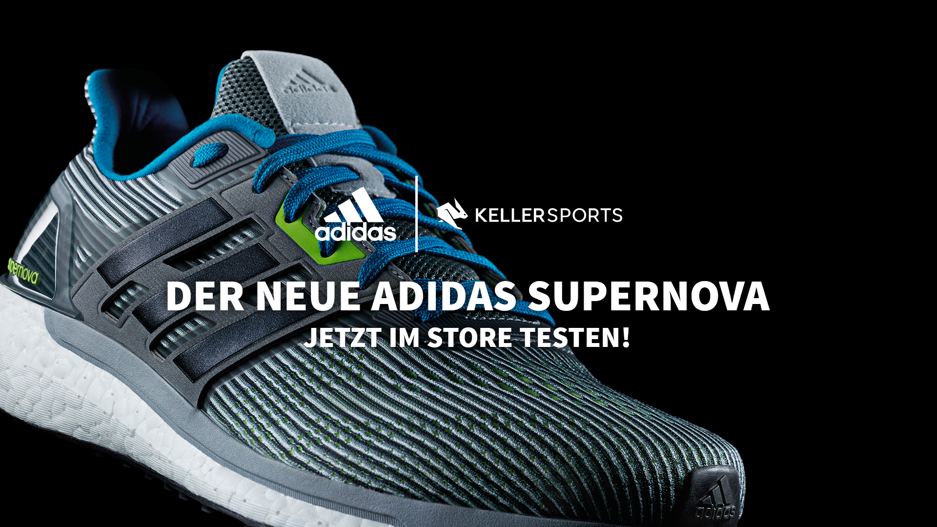 CONTROL YOUR ENERGY- DIE ADIDAS SUPERNOVA KOLLEKTION IM KELLER SPORTS STORE