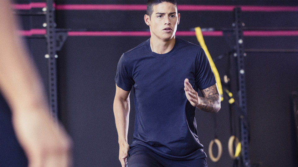 DIE ADIDAS TRAININGSKOLLEKTION MIT JAMES RODRIGUEZ