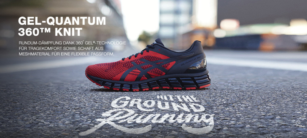 HIT THE STREETS MIT DEM NEUEN ASICS GEL QUANTUM 360 KNIT - Keller ...
