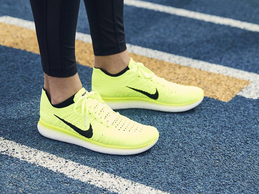 Nike Damen Free Rn Flyknit 2017 Laufschuhe: