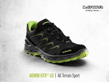 BALD BEI KELLER SPORTS: DER BRANDNEUE LOWA AEROX GTX