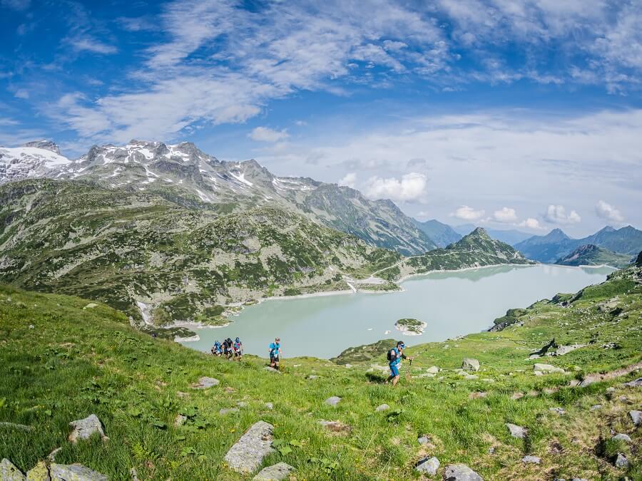 Beim Großglockner Ultra-Trail mit den Dynafit Alpine Pro Laufschuhen