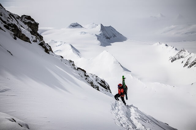 Die The North Face Summit Series L3 50 50 Down Jacket überzeugt in unserem Outdoor Test 2021