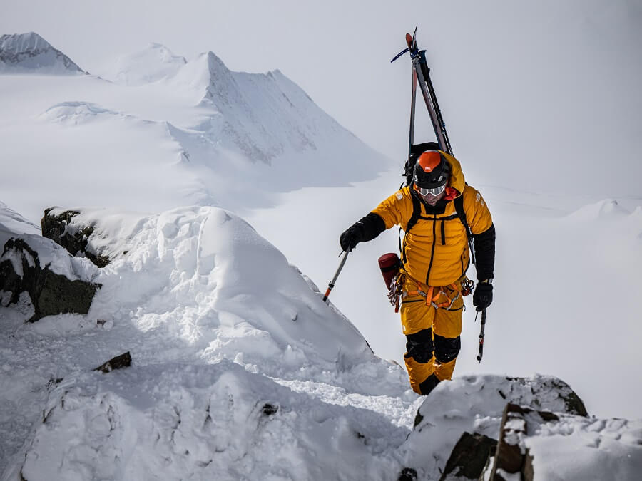 Die The North Face Summit Series L3 50/50 Down Jacket im Test