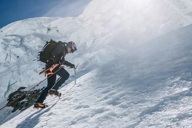 Der Mammut Eiger Extreme Eiswand Advanced Midlayer im Outdoor Bekleidung Test 2020