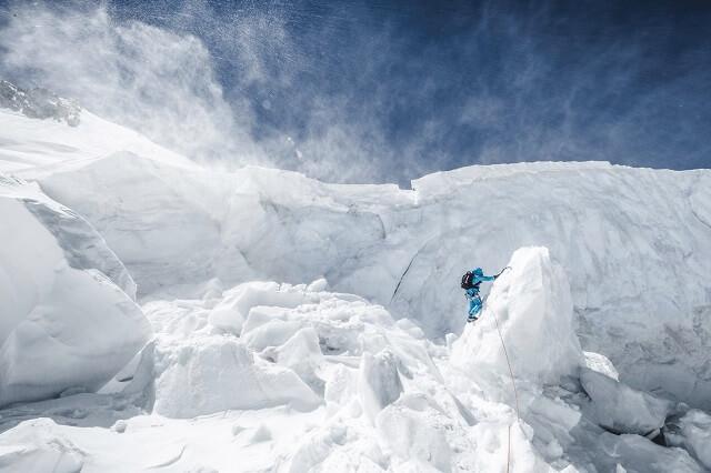 Die Mammut Eiger Extreme Pro Bekleidung tragen den Namen der Schweizerberge Eigerjoch und der Eiger Nordwand