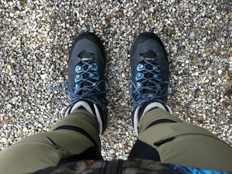 Lowa Lavine II GTX on foot