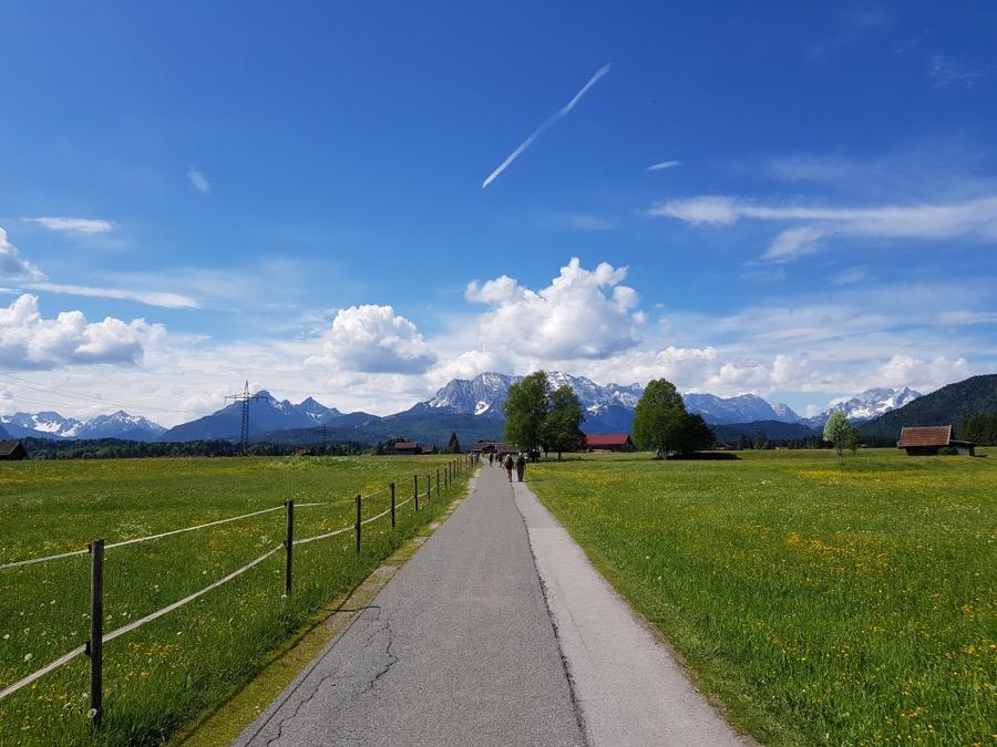 Megamarsch München Route