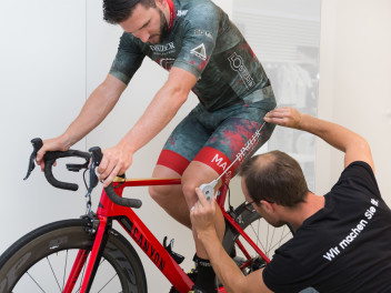 BIKEFITTING IM KELLER SPORTS STORE