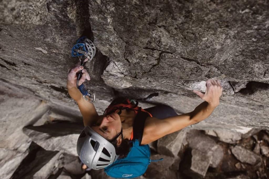 Lowe Alpine Aeon climbing