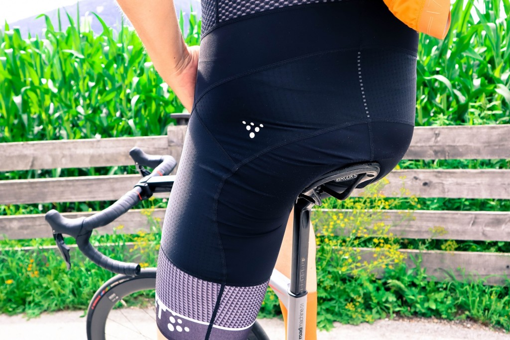 Craft Route Shorts Test Seat