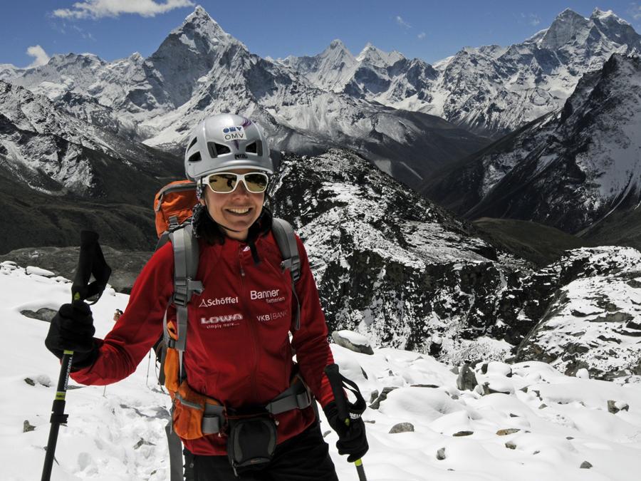 10 Fragen an Extrem-Bergsteigerin Gerlinde Kaltenbrunner