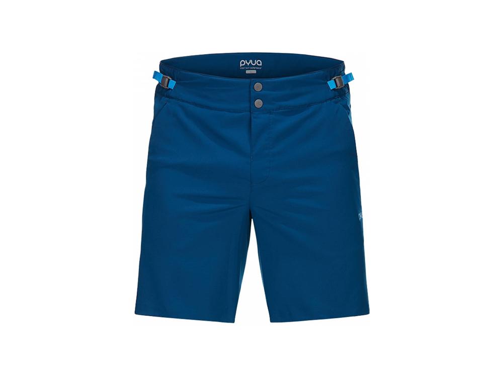 PYUA Bolt-Y Herren Funktionsshort (blau)