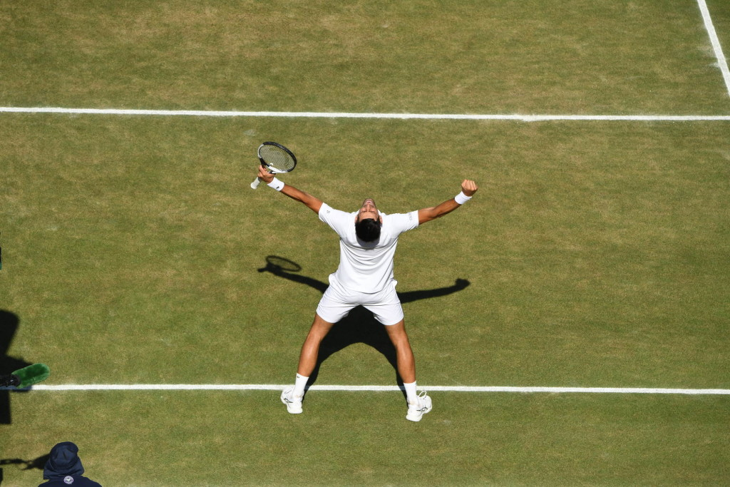 Wimbledon Djokovic wins
