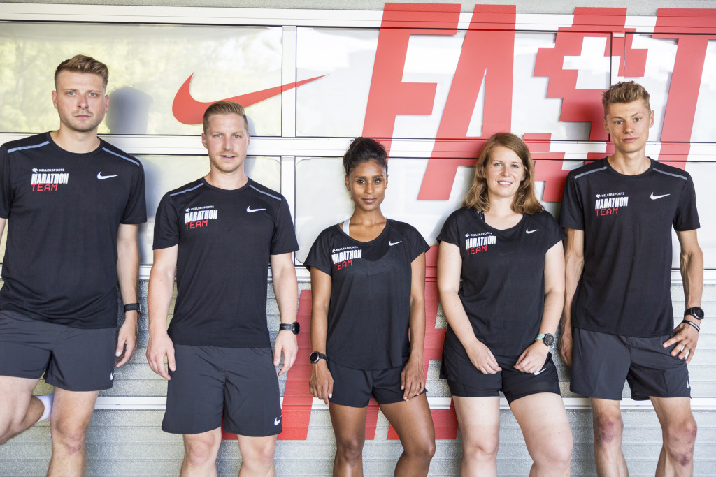 Keller Sports Marathon Team Nike Fast Lab