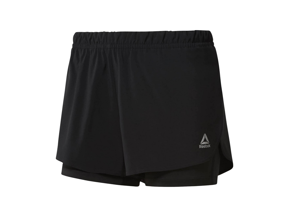 Reebok - 2-1 women´s running shorts (black)