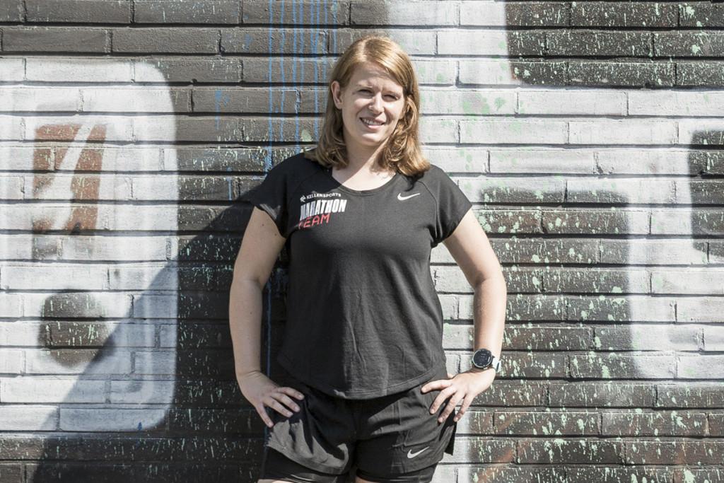 Steffanie Knapp Keller Sports Marathon Team