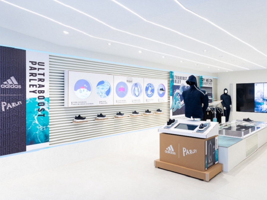 FROM THREAT INTO THREAD - ADIDAS ULTRABOOST PARLEY IM KELLER SPORTS STORE