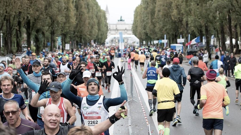 Generali München Marathon Leopoldstraße