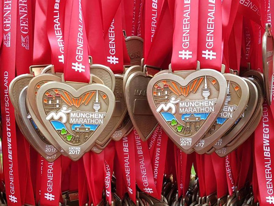 Generali München Marathon Medaillen 2017