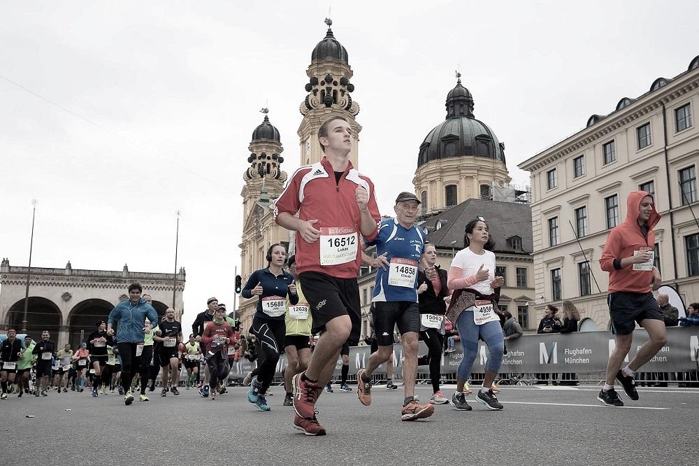 Generali München Marathon Odeonsplatz