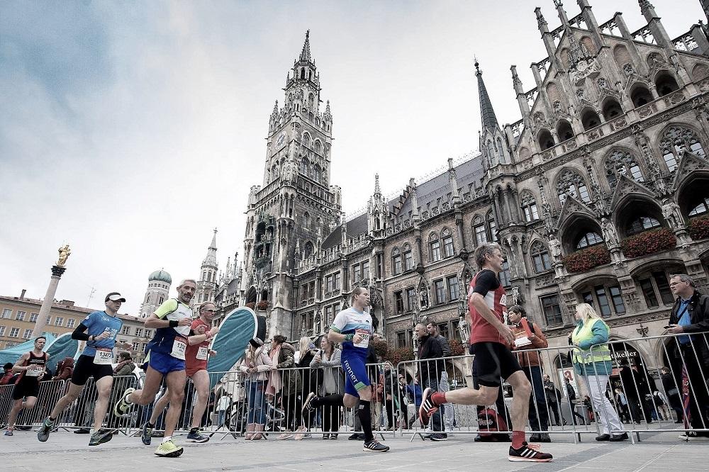 Generali München Marathon Rathaus