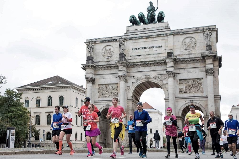 Generali München Marathon Siegestor