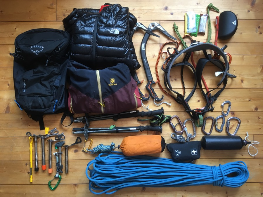 Osprey Mutant Packliste