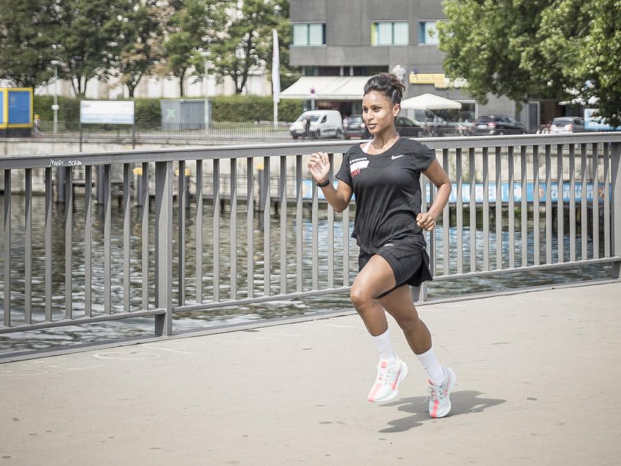Keller Sports Marathon Team Julia Running