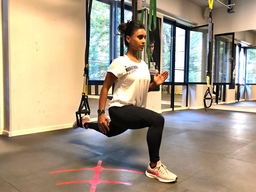Keller Sports x Nike Marathon Team Julia Lunges