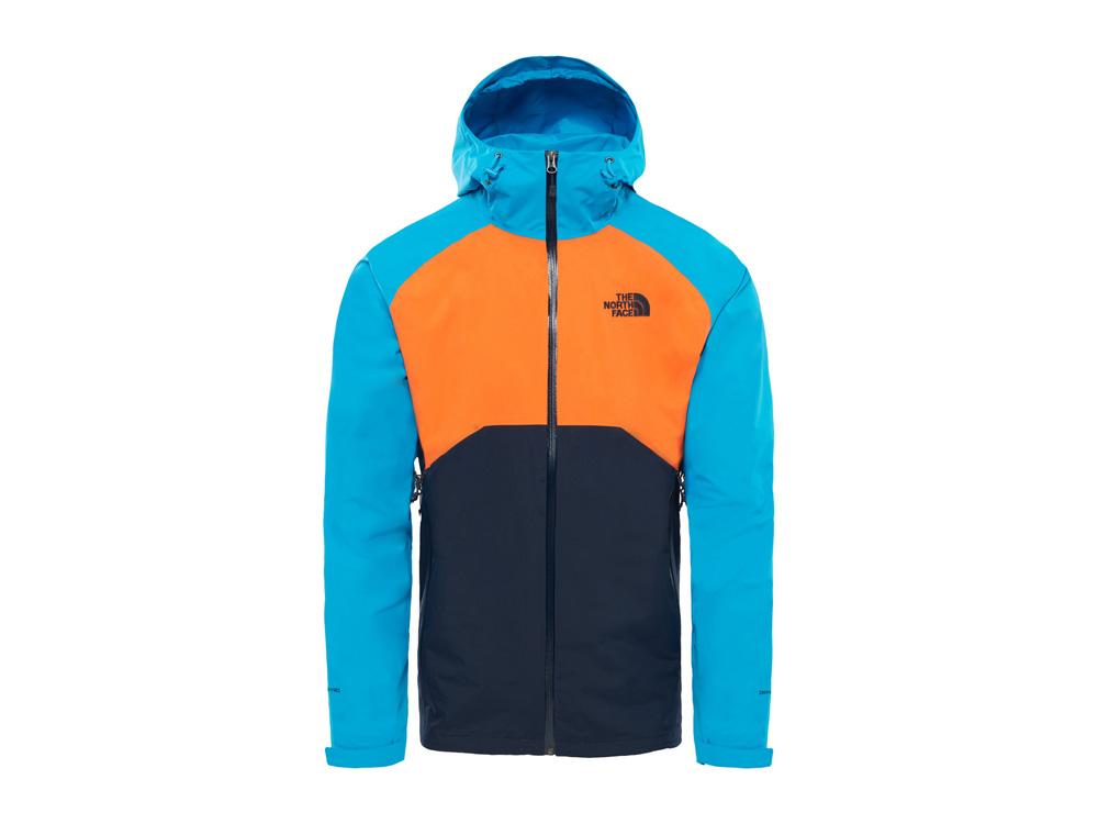 The North Face - Stratos Herren Funktionsjacke (blau/orange)