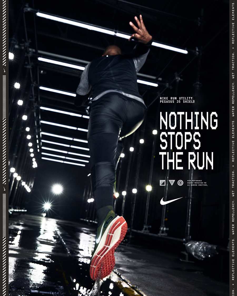 Nike Nothing Stops The Run