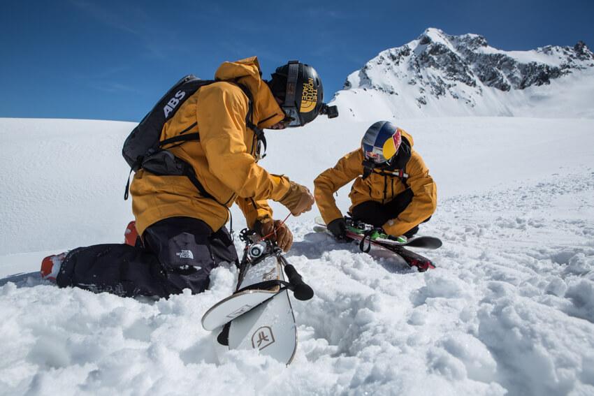 Markus Eder Freeride Ushba Expedition