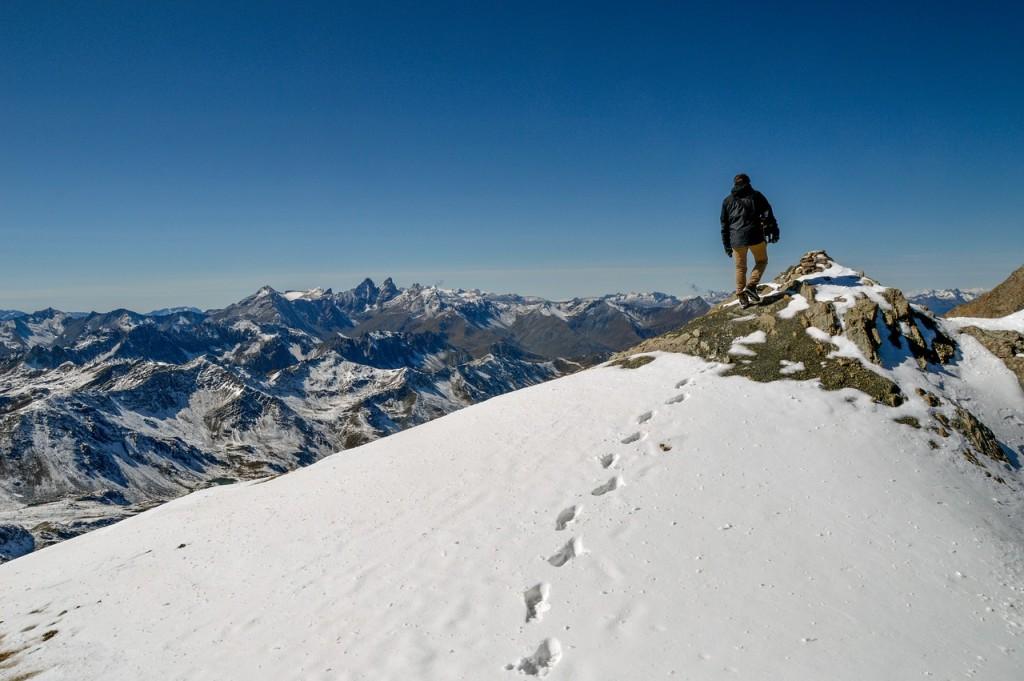 Winterwandern Gipfel