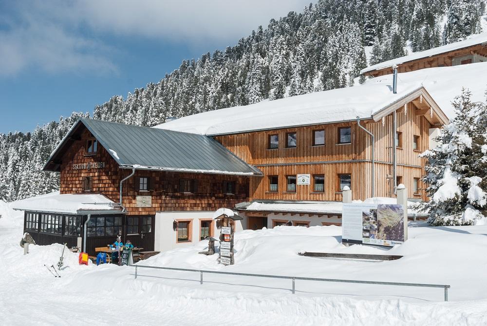 Winterwandern Weidener Hütte