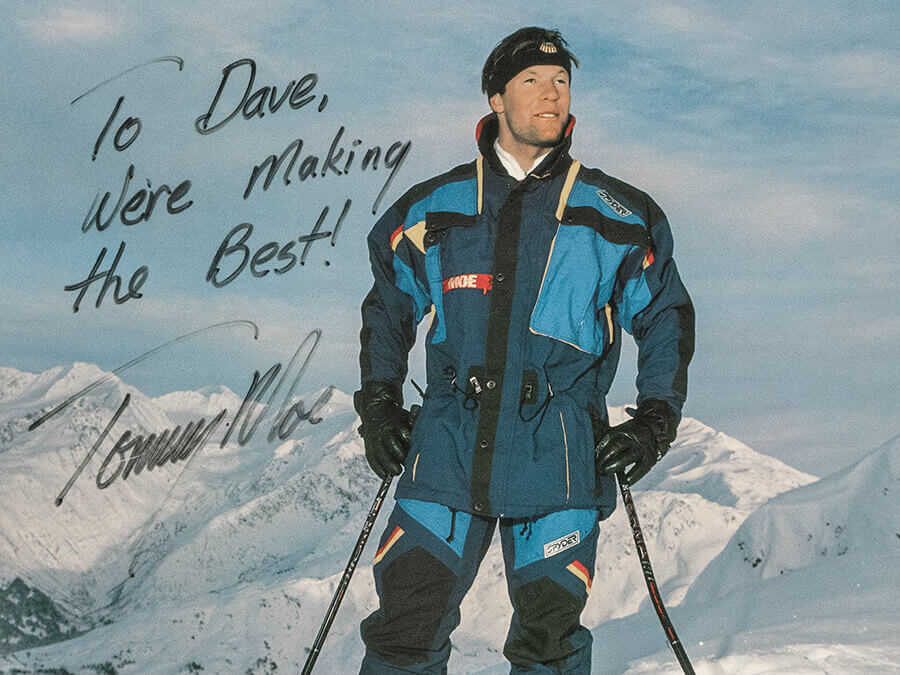 So entstand die Spyder Tordrillo Ski-Kollektion mit Olympiasieger Tommy Moe
