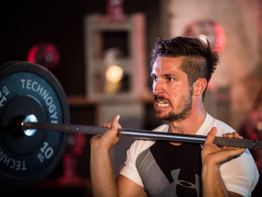 Marcel Hirscher Under Armour Fitness