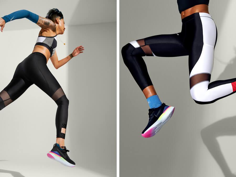 Nike Epic React Flyknit 2 Black Release Running Footwear