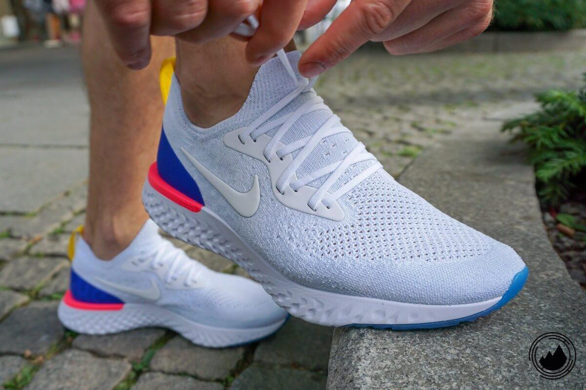 Nike Epic React Flyknit Test Schuh Herren Laufen