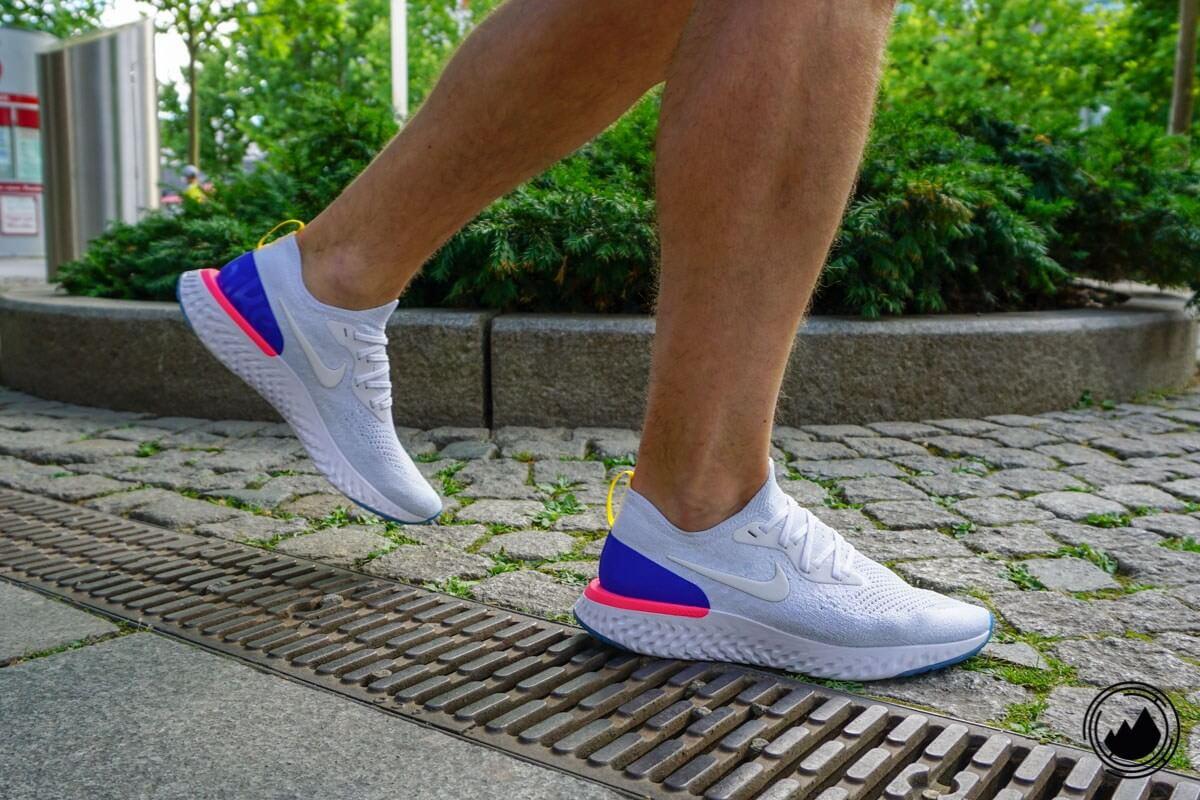 Nike Epic React Flyknit Test Schuh Herren