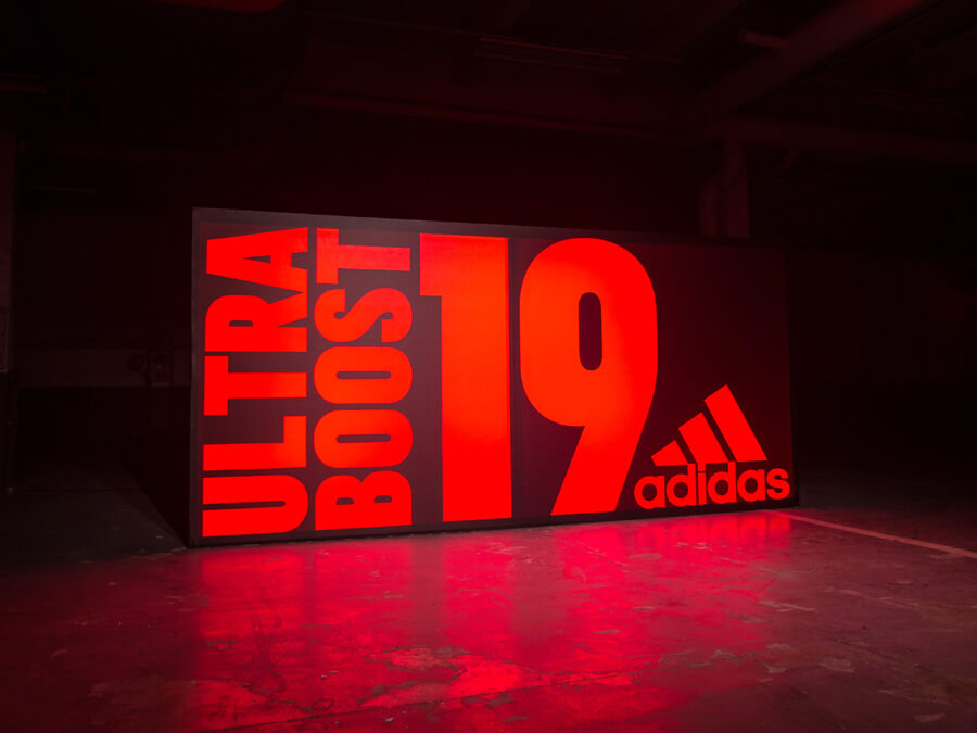 huge selection of f119f abe22 ... adidas Ultraboost 19 Launch Event Paris Dezember 2018