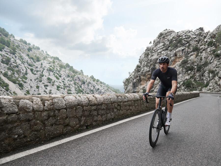 Fabian Cancellara aus Bern Schweizer Rad Sport Paris - Roubaix Team Champion im Cycling Interview