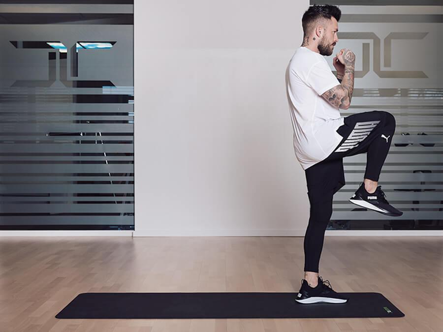 Fit mit 7 Kraft Sport Übungen für Läufer