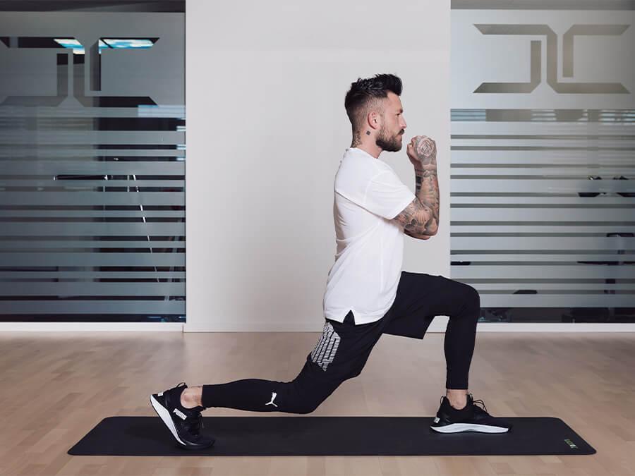 Fit mit 7 Kraft Sport Übungen
