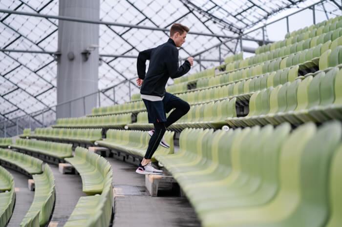 Philipp Pflieger Marathon Läufer Tipps Treppenlauf