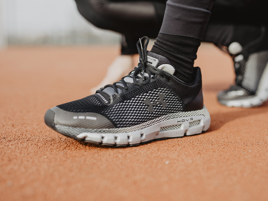 pretty nice 28670 34733 DIE UNDER ARMOUR HOVR INFINITE 2019 LAUFSCHUHE IM TEST ...
